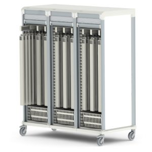 Apollo catheter cart triple