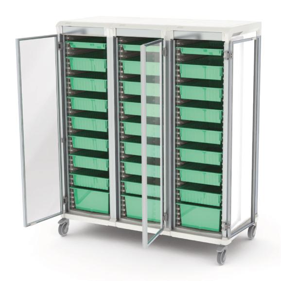 Apollo dirty utility storage cart