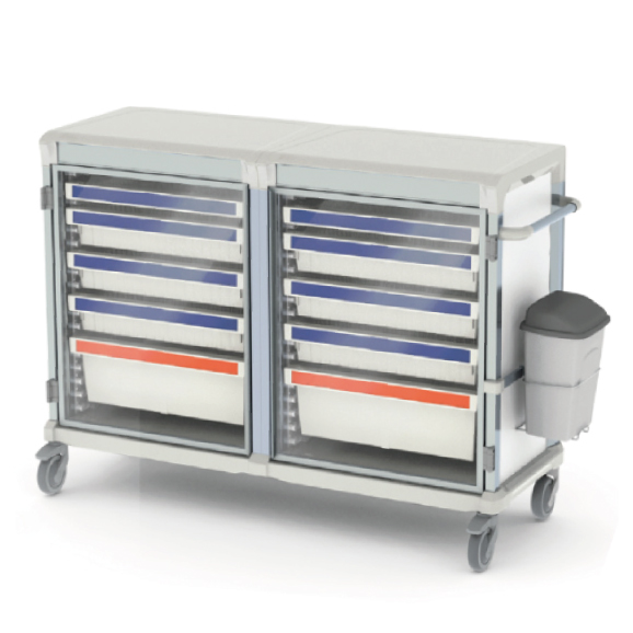 Apollo cart glass door