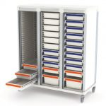 Apollo storage cart open