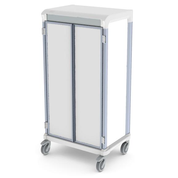 Apollo storage cart solid door