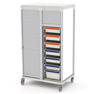 Apollo storage cart - tambour door