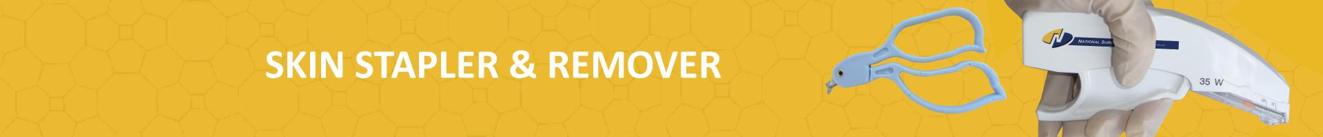 Skin stapler and remover