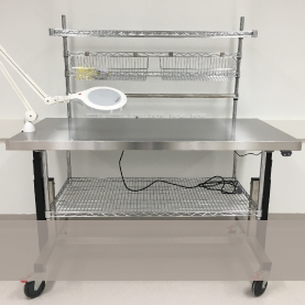 Height Adjustable CSSD Packing Tables