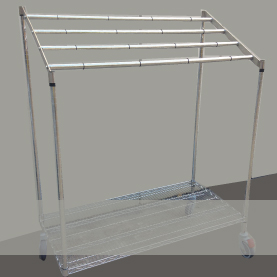 Mobile Wrap Rack/ CSSD Sterile Wrap Rack