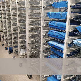 Shelving & Storage Systems for CSSDs