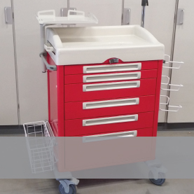 Emergency and hospital carts