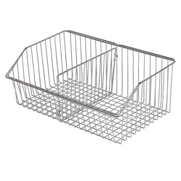 CCWB-40-S Chrome wire maxi basket - large