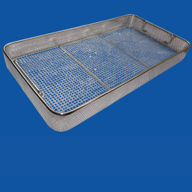 Sterilisation baskets, trays and containers