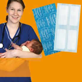 Medichill ice & heat packs for wards