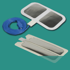 Electrosurgical plates