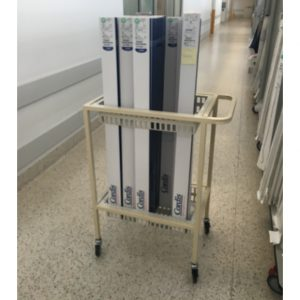 Catheter trolley