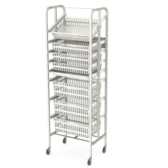 open-frame-rack-E-single-castors