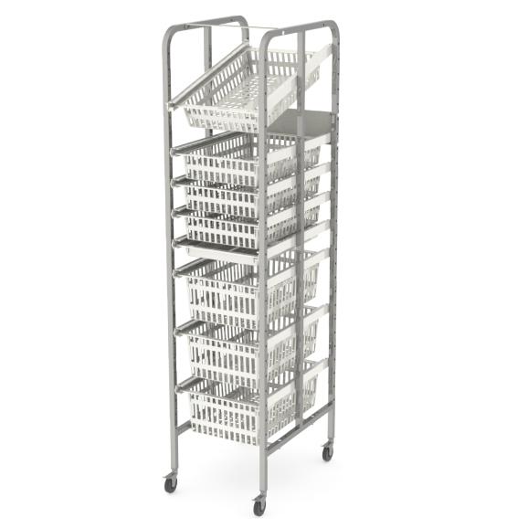 open-frame-rack-u-single-castors