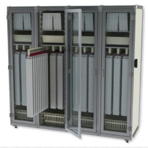 Catheter storage cabinet