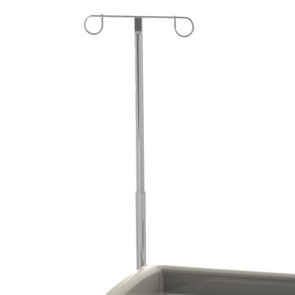 IVPOLE-HA-Adjustable-IV-pole-cart