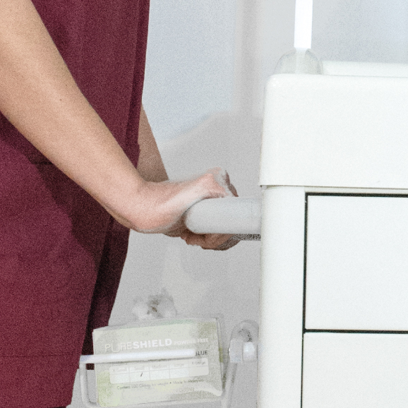 push-handle