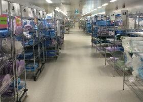 hospital-redevelopment-chrome-wire-shelving