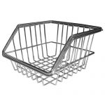 CCWB-10-M CHROME WIRE BASKETS